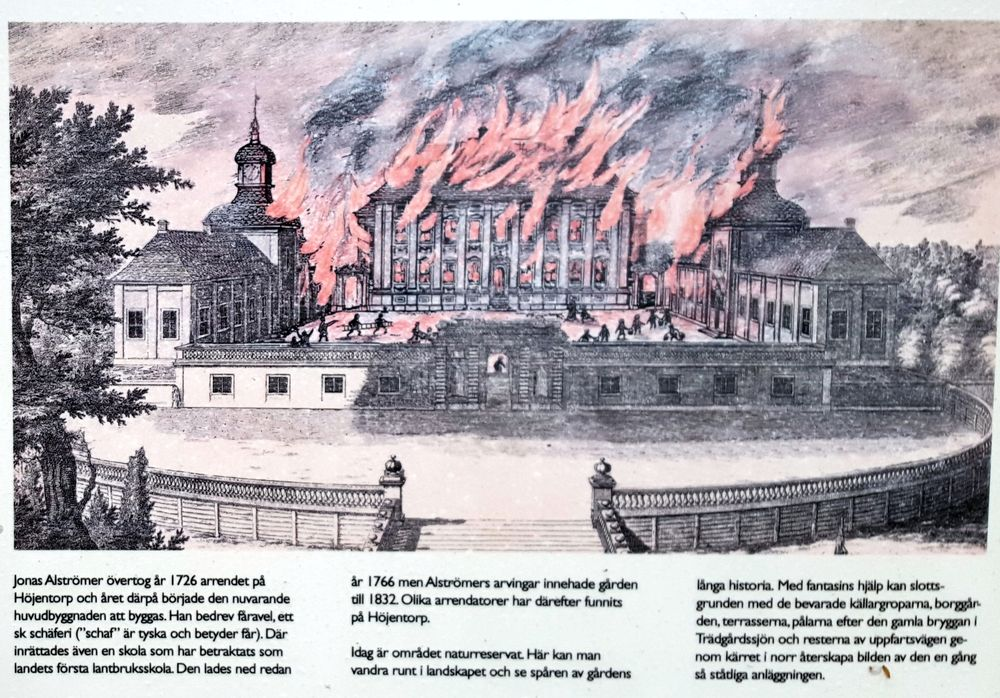 Höjentorps slott, illustration