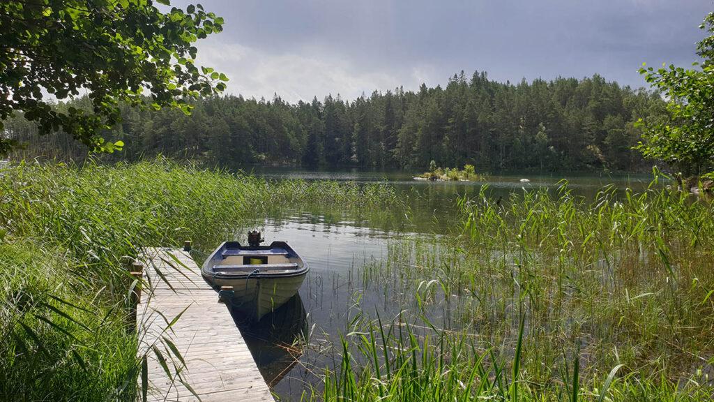 Djäknerundan, Karlsborg Tiveden - brygga